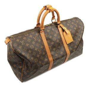 Authentic Louis Vuitton keepall 50 Monogram travel